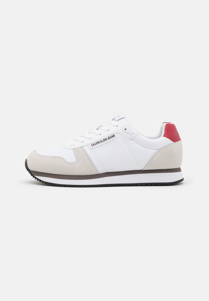 Calvin Klein Jeans - RUNNER LACEUP - Sneakers - bright white