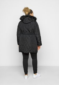 Dorothy Perkins Curve - DIAMOND LONG LUXE - Winter coat - black - 2