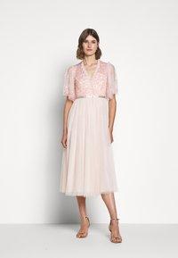 Needle & Thread - PATCHWORK BODICE BALLERINA DRESS - Koktejlové šaty/ šaty na párty - ballet slipper/pink - 0