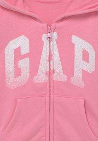 GAP - ARCH HOODIE - Zip-up hoodie - neon impulsive pink - 2