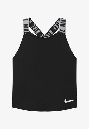 DRY TANK ELASTIKA - T-shirt de sport - black/white