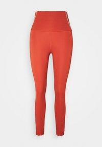 Nike Performance - YOGA CORE 7/8 VINT VINYASA - Tights - firewood orange/claystone red - 4