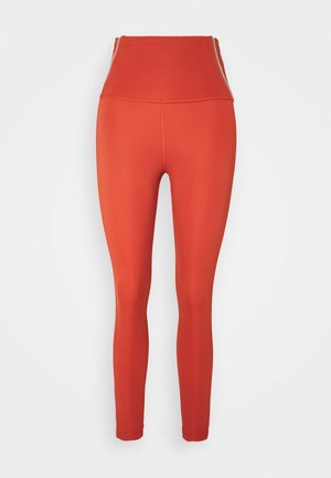 YOGA CORE 7/8 VINT VINYASA - Leggings - firewood orange/claystone red