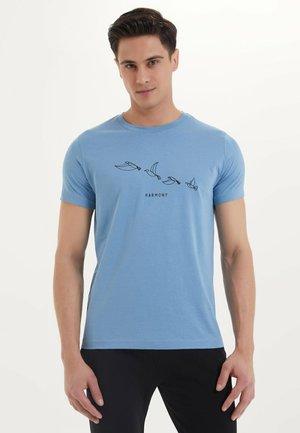 HARMONY - T-shirt print - blue heaven
