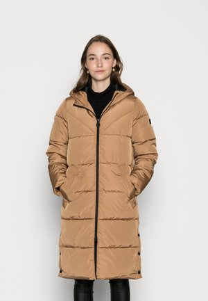 ONLAMANDA LONG PUFFER COAT - Winter coat - toasted coconut
