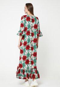 Madam-T - Maxi dress - rosa rot - 2