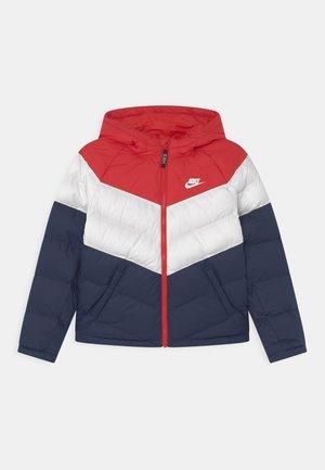 SYNTHETIC FILL UNISEX - Winter jacket - university red/white/midnight navy