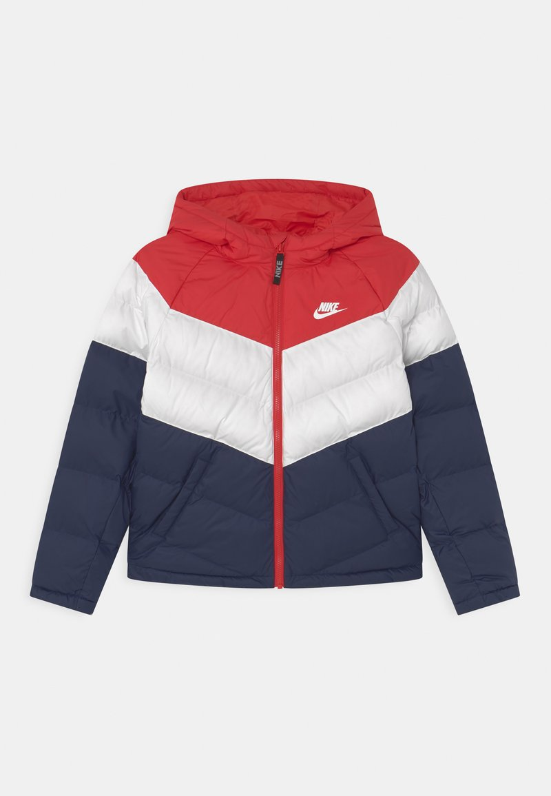 Nike Sportswear - SYNTHETIC FILL UNISEX - Winter jacket - university red/white/midnight navy