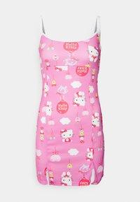 YING YANGBALLOON DRESS - Freizeitkleid - pink