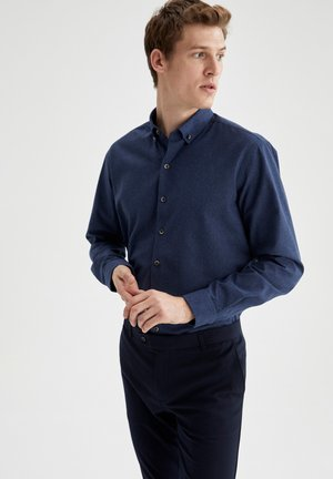 Zakelijk overhemd - indigo