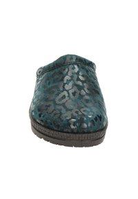 Rohde - Pantoffels - blauw - 4