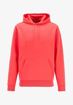 Hoodie - open pink