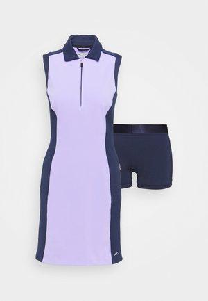 WOMEN SUSI DRESS - Sportovní šaty - iris purple/atalanta blue
