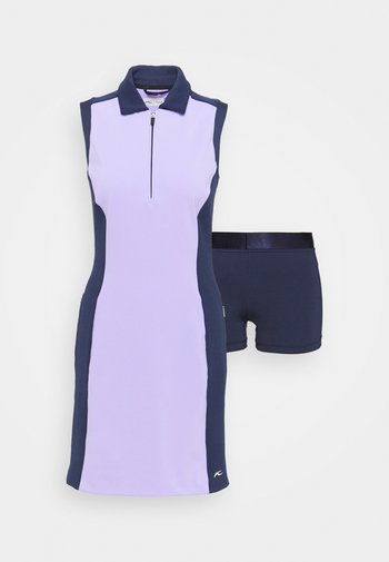 WOMEN SUSI DRESS - Sports dress - iris purple/atalanta blue