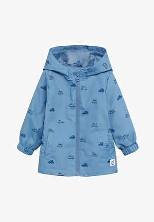 Waterproof jacket - blauw