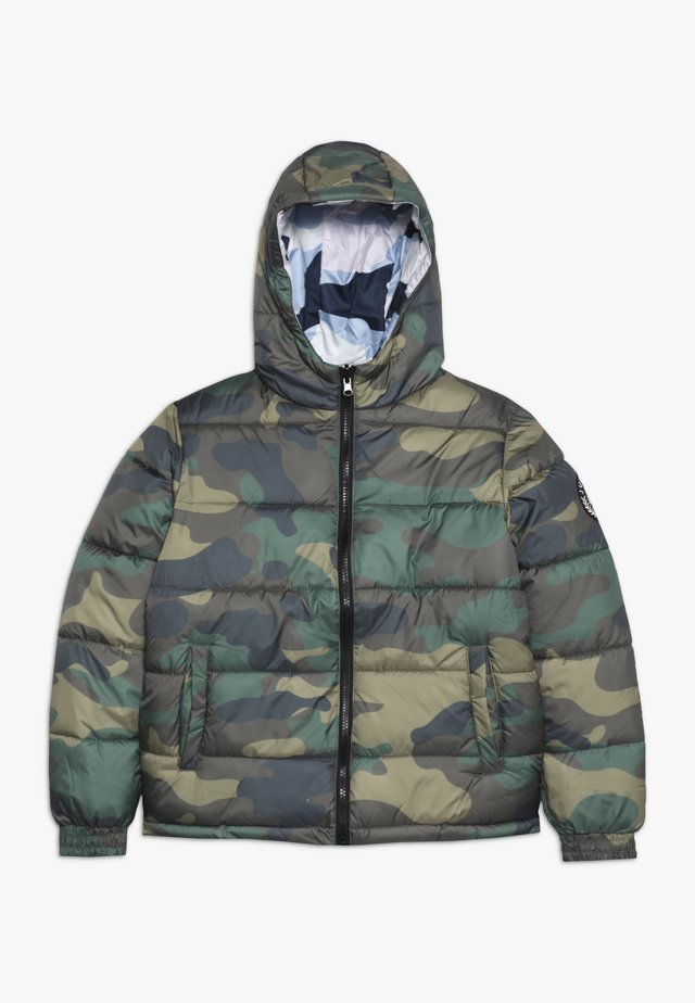 KIDS PUFFER JACKET DOUBLE CAMO - Winter jacket - multi