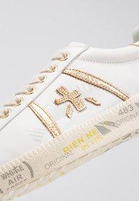 Premiata - ANDY - Trainers - white/gold - 2