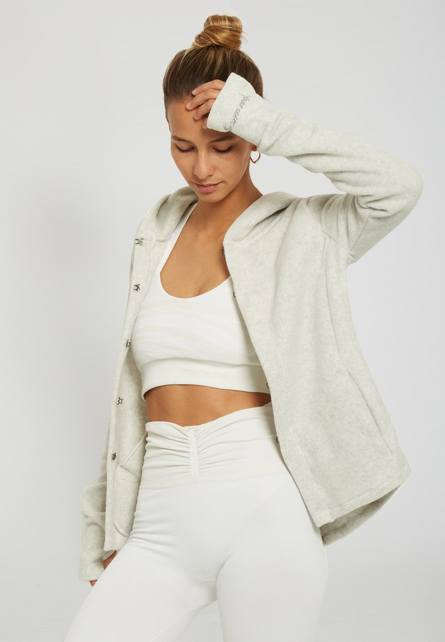 SUSHUMNA - Sweat à capuche - light grey