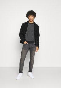 Blend - Stickad tröja - black - 1