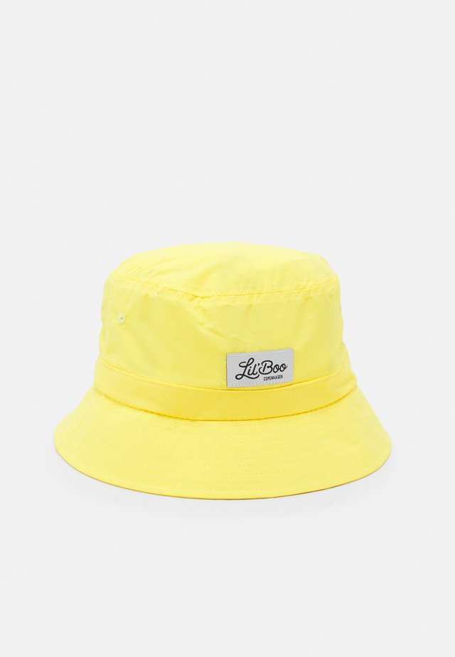 LIGHT WEIGHT BUCKET HAT UNISEX - Klobouk - bright yellow