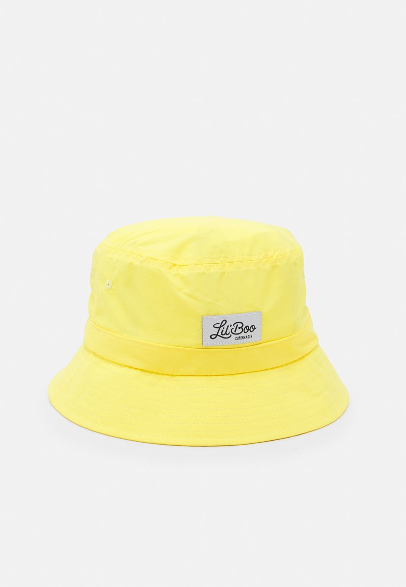 Lil'Boo - LIGHT WEIGHT BUCKET HAT UNISEX - Hat - bright yellow