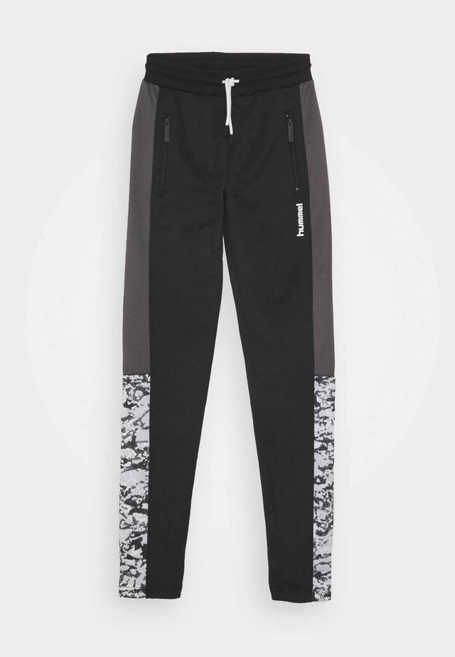HMLJOSEPH PANTS - Pantalon de survêtement - black