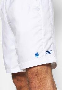 K-SWISS - HYPERCOURT EXPRESS SHORT - Pantalón corto de deporte - white/dark blue - 5
