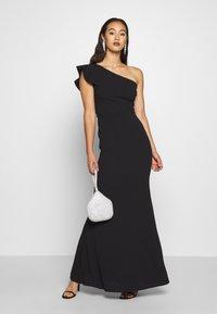 WAL G. - ONE SHOULDER DRESS - Occasion wear - black - 1