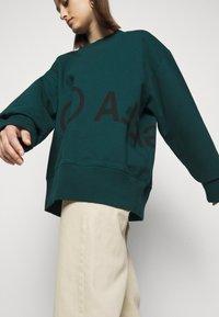MM6 Maison Margiela - Sweatshirt - duck green - 4