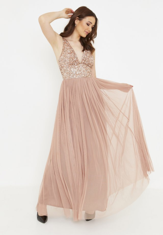 MILLY EMBELLISHED SEQUINS - Maxiklänning - pale mauve