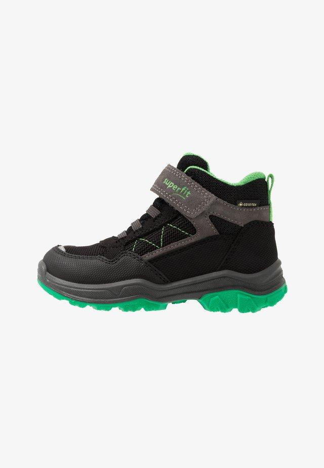 JUPITER - Classic ankle boots - schwarz/grün