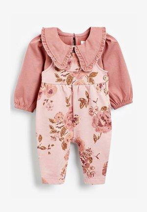 SET - Long sleeved top - pink
