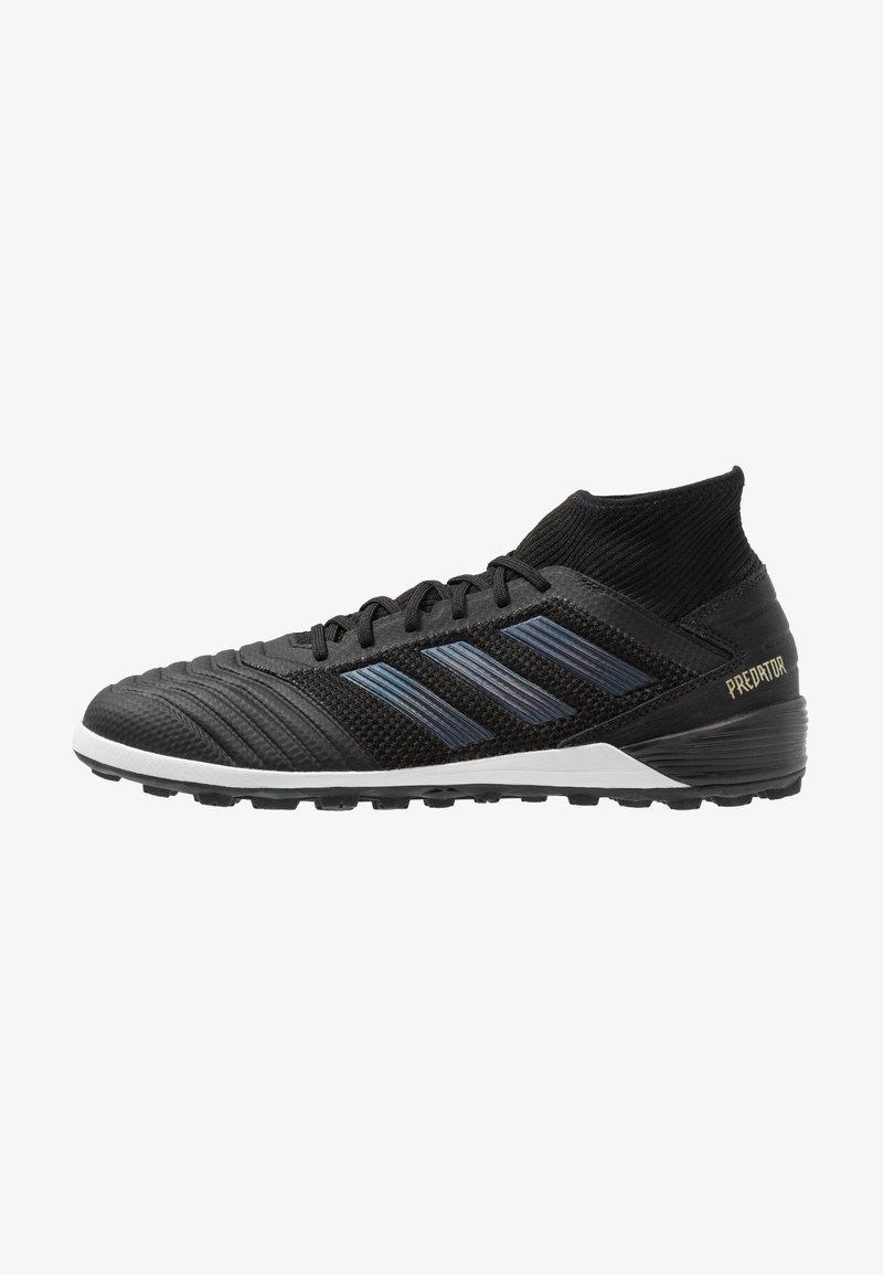 adidas Performance - PREDATOR 19.3 TF - Astro turf trainers - core black/gold metallic
