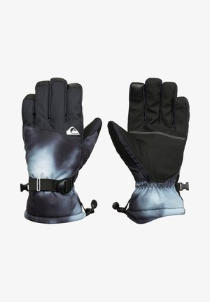 Gloves - black particul