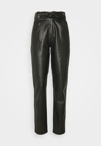 Dorothy Perkins Tall - TALL BELTED TROUSER - Trousers - black - 0