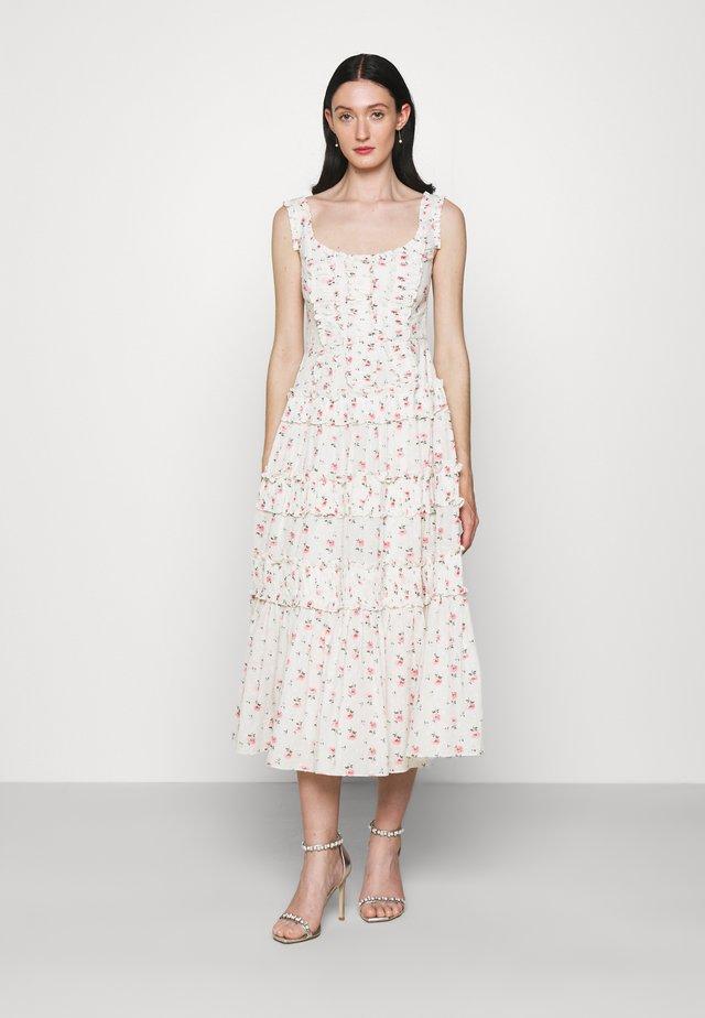 THERESA BIJOU BALLERINA DRESS - Day dress - optic white