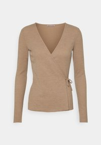 Anna Field - Long sleeved top - mottled beige - 0