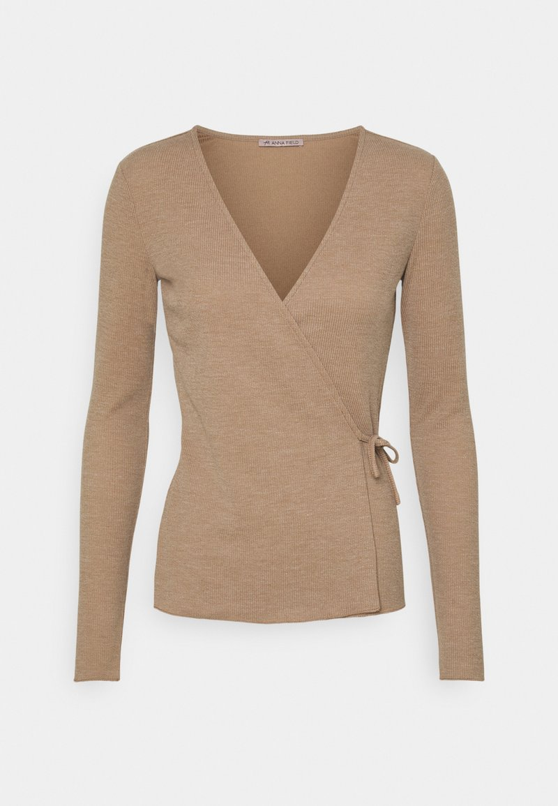 Anna Field - Long sleeved top - mottled beige