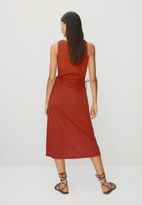 Mango - GABI - Robe d'été - rouge orangé - 1