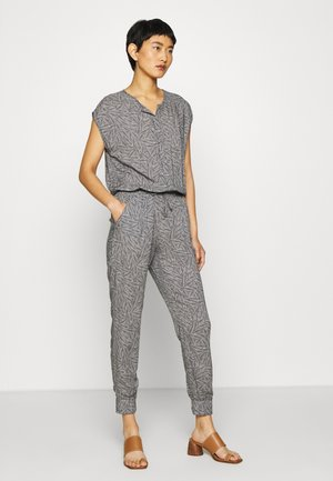 OVERALL - Jumpsuit - dark blue/nature