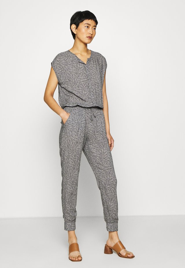 OVERALL - Tuta jumpsuit - dark blue/nature
