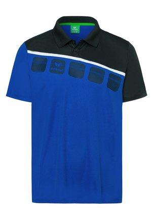 5-C POLOSHIRT KINDER - Poloshirt - royal/black