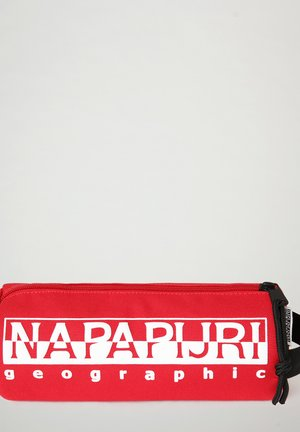 HAPPY PENCIL CASE - Pennfodral - red