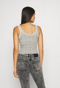 BDG Urban Outfitters - TRIM TANK DITSY - Topper - seafoam - 2