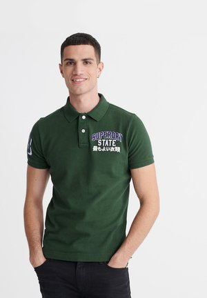 CLASSIC SUPERSTATE - Polo shirt - dark forest