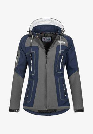 Soft shell jacket - grau