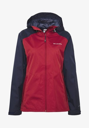 INNER LIMITS II JACKET - Ulkoilutakki - dusty crimson/nocturnal