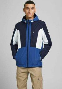 Jack & Jones - Light jacket - navy blazer - 0