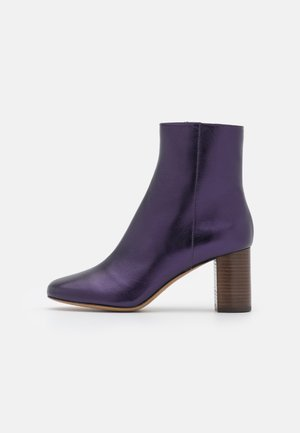 AIRY - Classic ankle boots - violet