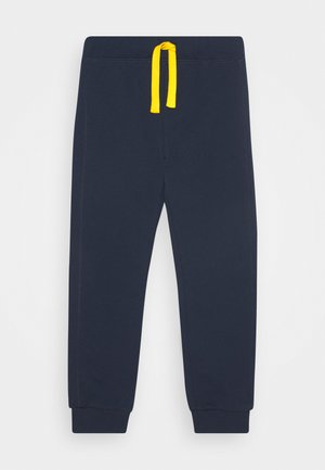 BASIC BOY - Tracksuit bottoms - dark blue